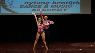 ABDA DANCERS HASAN& SİNEM SALSA SHOW 2016 YILSONU SHOW
