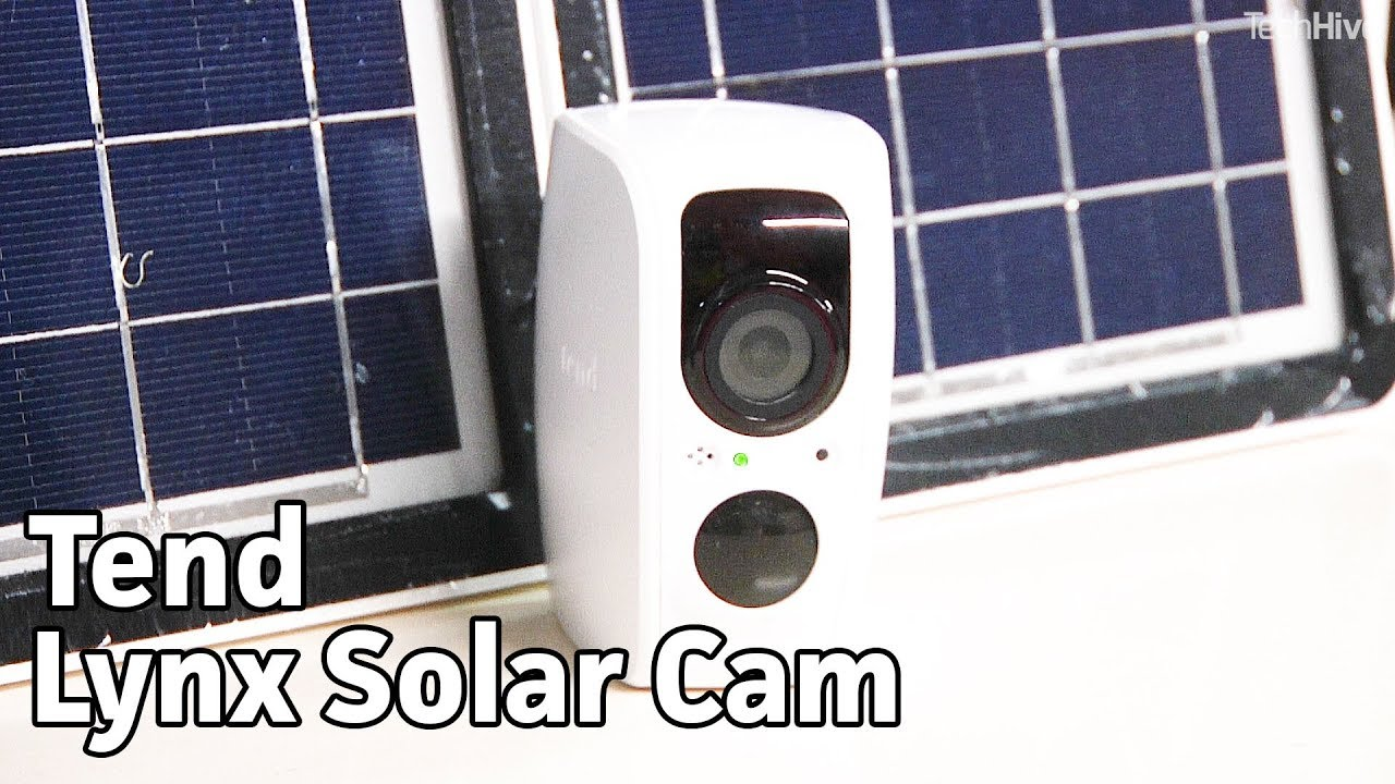 Tend's Lynx is a solar-powered smart security camera | TechHive Review