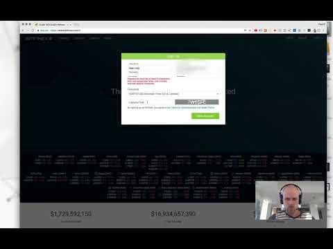 Open Account With Bitfinex