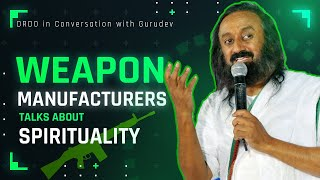 DRDO in conversation with Gurudev Sri Sri Ravi Shankar