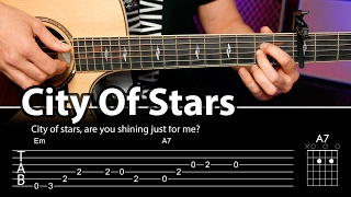 City Of Stars Cover con acordes para guitarra (guitar cover)  | Guitarraviva