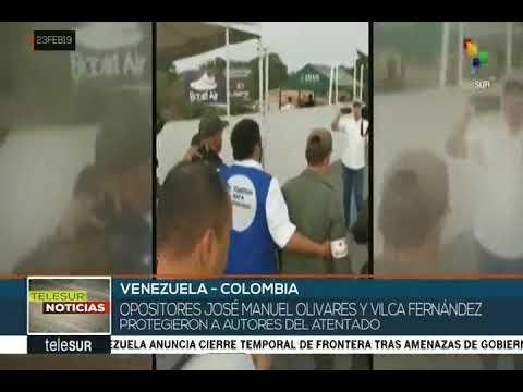 Opositores José Manuel Olivares y Villca Fernández recibieron a GNBs que secuestraron tanquetas