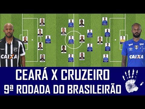 PRÉ-JOGO: CEARÁ X CRUZEIRO - BRASILEIRÃO