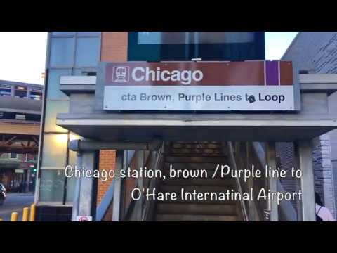 Metro Guide From Downtown Chicago To O'Hare International Airport