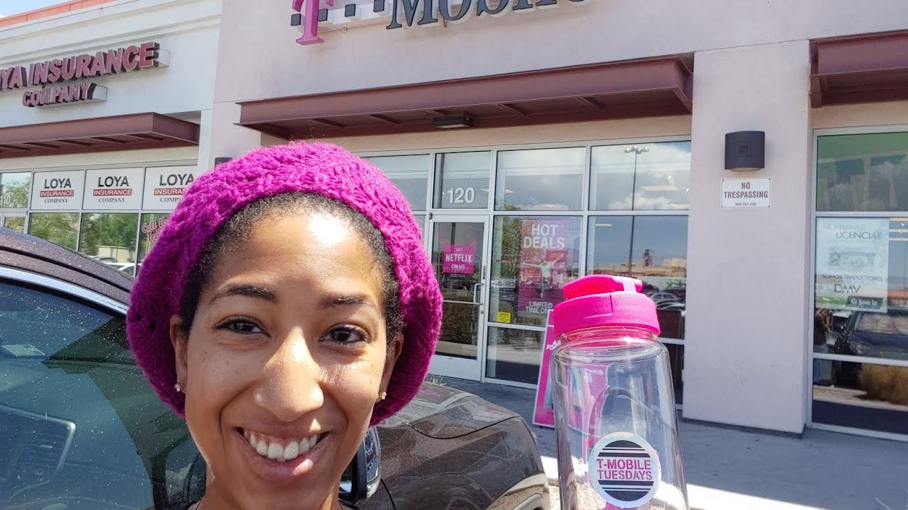 FREE T-Mobile Tuesday: Water Bottle (7/24/18)