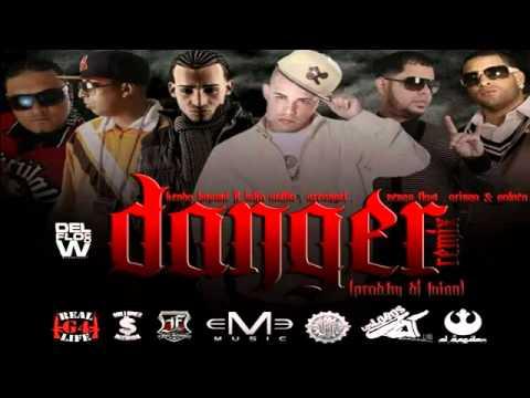 Danger (Remix) - Kendo Ft. Voltio, Jomar, Ñengo Flow, Arcangel, Polakan, Pacho y Cirilo & Gringo