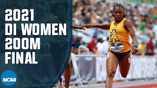 Women's 200m - 2021 NCAA track and field championship