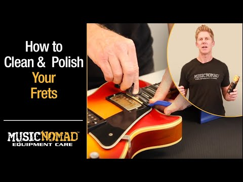 Best Way to Clean & Polish your Frets with FRINE Fret Polishing Kit