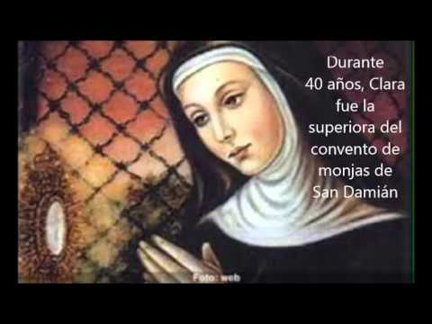 Historia De La Virgen De Santa Clara De Asis Youtube