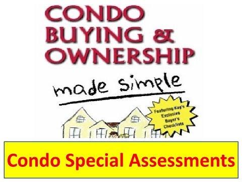 Condo Special Assessments  | Condos | Condominiums