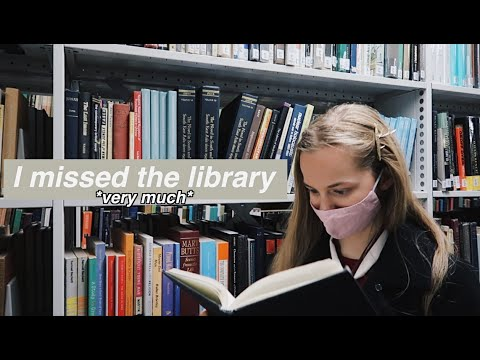 Download Perusing the University Library 📚 studying & reading outside