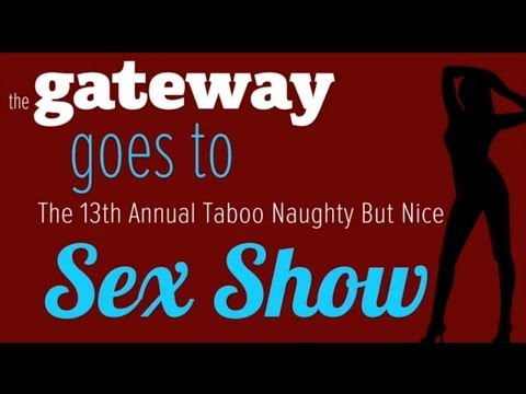 The Gateway Goes to the 13th Annual Naughty But Nice Sex Show & Interviews Ron Jeremy