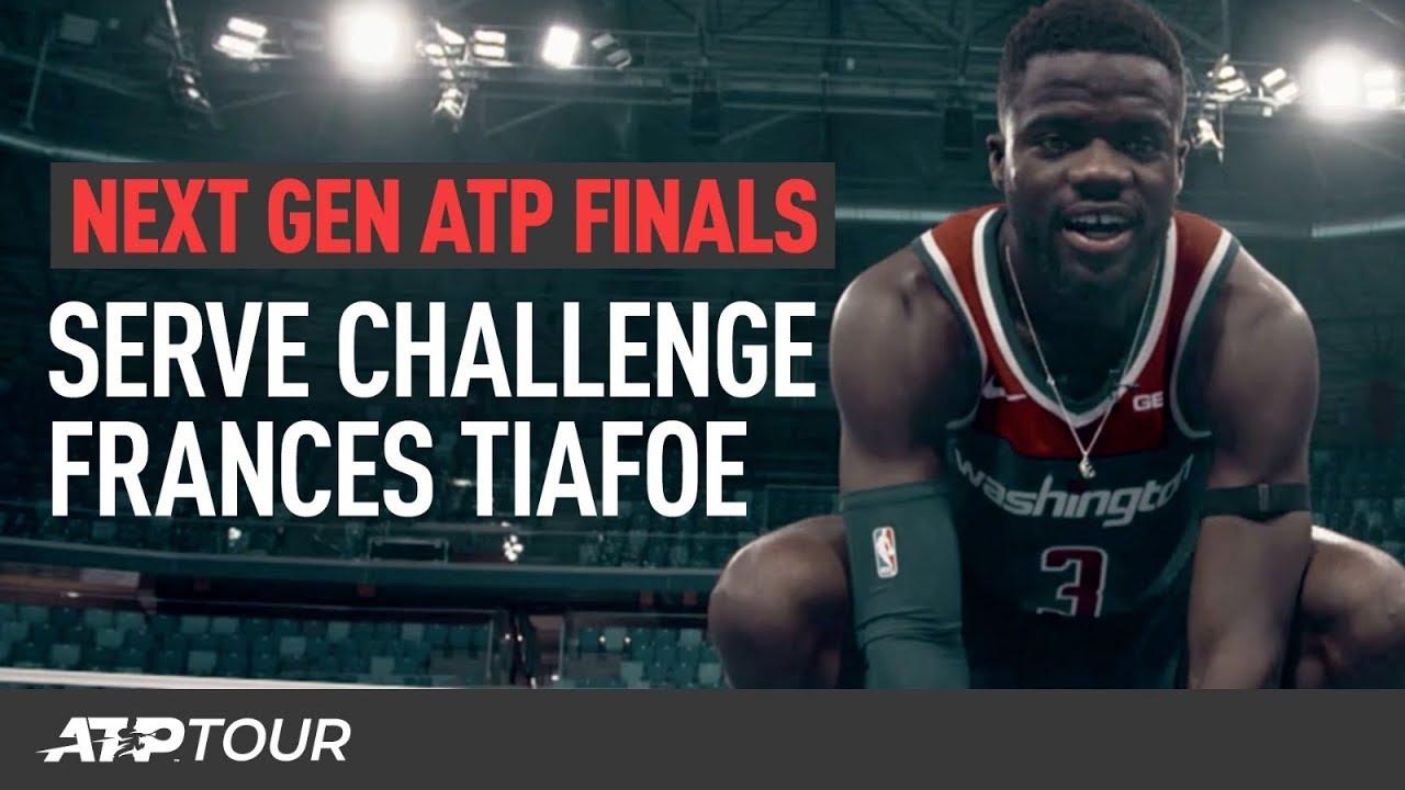 Tiafoe Takes The Next Gen Serve Challenge | Next Gen ATP Finals