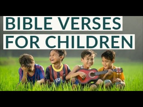 Download Bible Verses for Children | Bible Quotes for Children