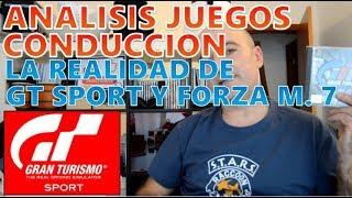 La realidad de Gran Turismo Sport y Forza Motorsport 7