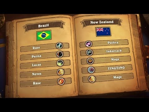 Brazil vs New Zealand – Semifinals 2 – 2018 Hearthstone Global Games - BlizzCon