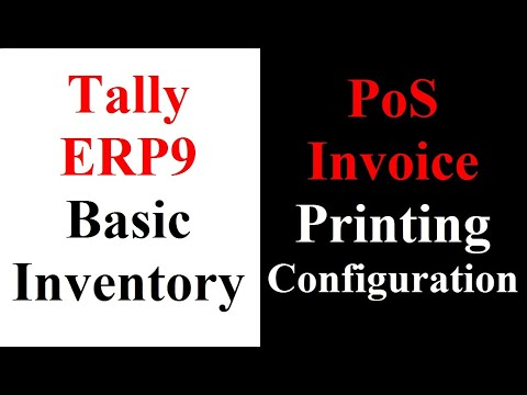 07 PoS Invoice Printing Configuration - YouTube - Invoice Print