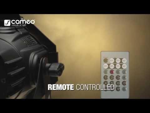 Cameo Light STUDIO MINI PAR Q 4W W - 7 x 4 W Cold White/Warm White LED PAR
