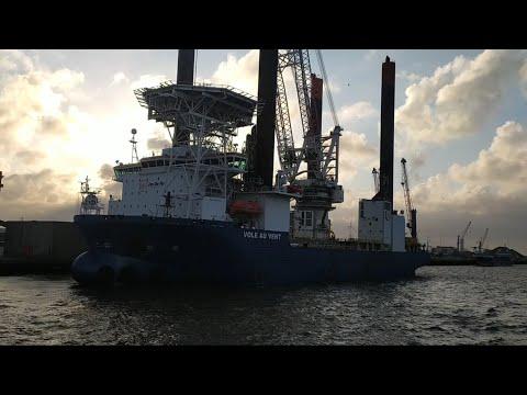 MV VOLE AU VENT   OFFSHORE SUPPLY VESSEL   OFFSHORE WIND SECTOR