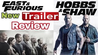 Hobbs and Shaw | Fast and Furious | Trailer review | Tricky Thamizha |