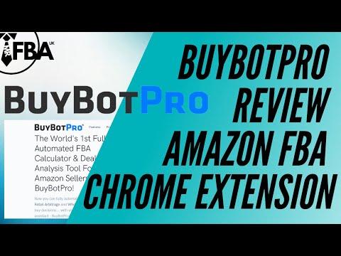 BuyBotPro Review - Amazon FBA Chrome Extension