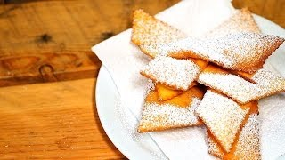 Frappole - Italian Carnival Crackers Recipe - Collaboration With Differenttaste