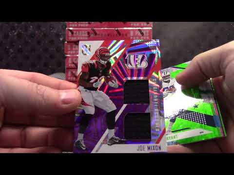 Martin's 2017 Panini Unparalleled Football Box Break