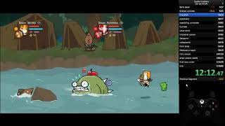 [World Record] Castle Crashers coop any% speedrun in 1:12:54