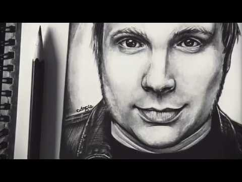 Patrick Stump (Fall Out Boy) - Timelapse Art