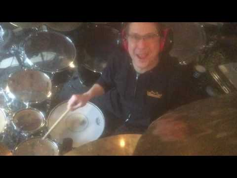Mike Mangini Tour preparation for one second of Metropolis