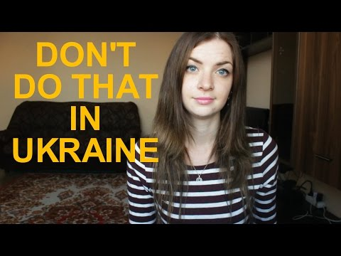 "DON""T DO THIS IN UKRAINE - part 1"