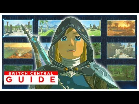 Link's MEMORIES LOCATIONS GUIDE (1 & 2) | The Legend of Zelda: Breath of the Wild (Tips/Cutscenes)