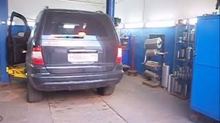 Замена катализаторов.Установка пламегасителей Mercedes ML 320. Москва.(, 2013-09-01T19:41:05.000Z)