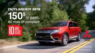 Promo octobre - Outlander 2016 - Québec Mitsubishi