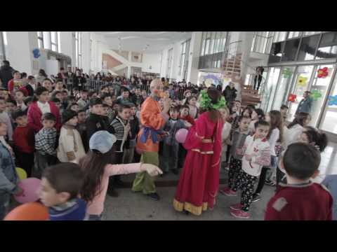 Port of Baku organized Novruz party for children