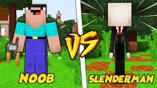 NOOB VS SLENDERMAN || TROLL NOOBA W MINECRAFT!