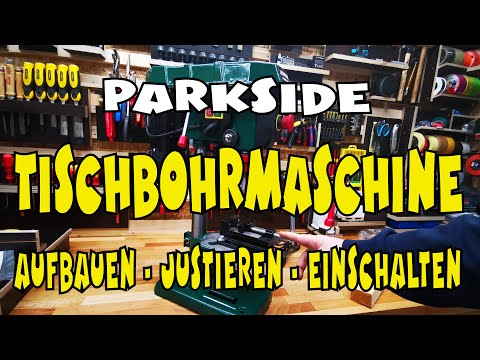 Lidl Parkside Bench Drill Ptbm 500 E5 Explained In Detail