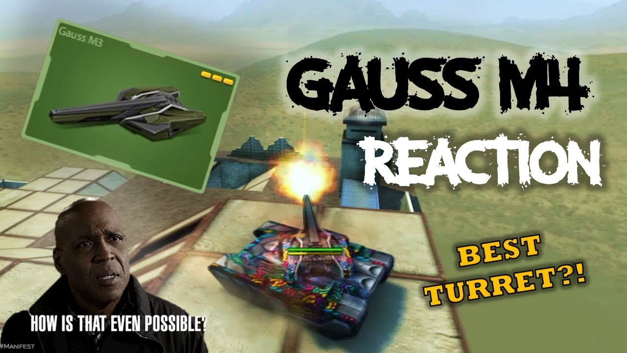 GAUSS M4 REVIEW + REACTION | Tanki Online