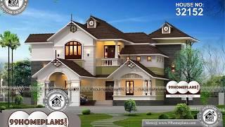 Indian House Design By 99HOMEPLANS COM [ Esp: M109 ]