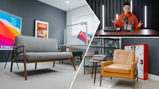Modern Home Office Studio Tour 2020 (Makeover)