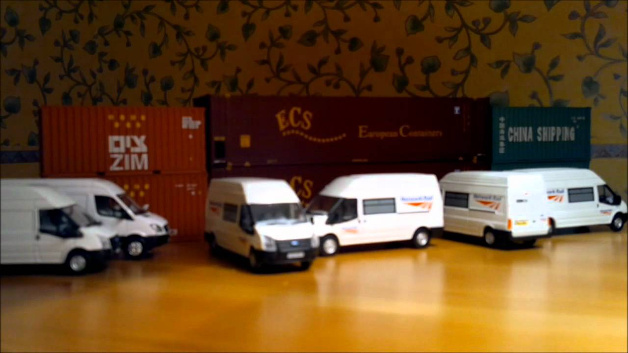 Ford Transit Connect >> A quick overview of the Network Rail Ford Transit by Oxford Diecast. - YouTube