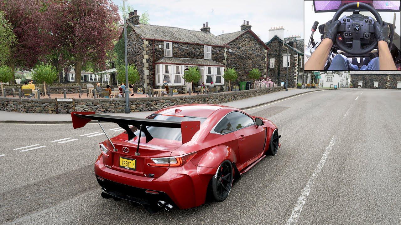 Lexus RC-F Rocket Bunny Widebody Build - Forza Horizon 4 | Thrustmaster TX
