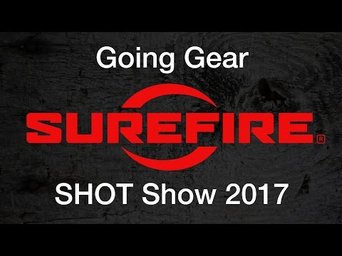 Surefire New Flashlights and Headlamps - SHOT Show 2017