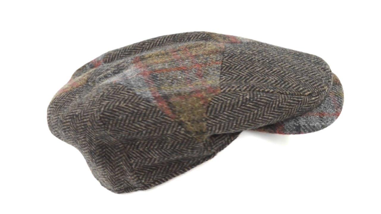 Wigens Patchwork Newsboy Cap - Wool c7780fe2e686