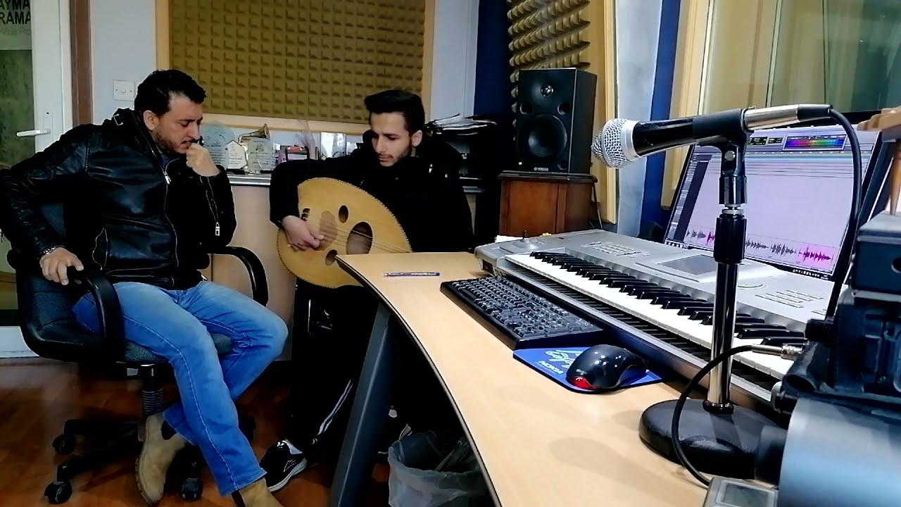 جلسة موسيقى تصويرية مع عود فارس رياحي #استوديو_ايمن_رمضان