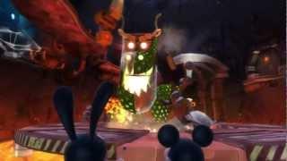 Epic Mickey 2: The Power of Two Walkthrough - Blotworx Dragon - Part 9 HD