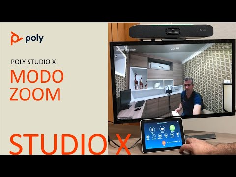 Poly Studio X30 - Zoom Room em Português - Zoom Room Appliance