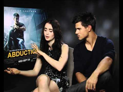 interview with Taylor Lautner for his new film Abduction