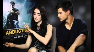 Stream interview with Taylor Lautner for his new film Abduction. Watch ...