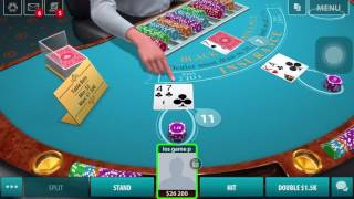 BLACKJACK GamePlay for Android & Iphone